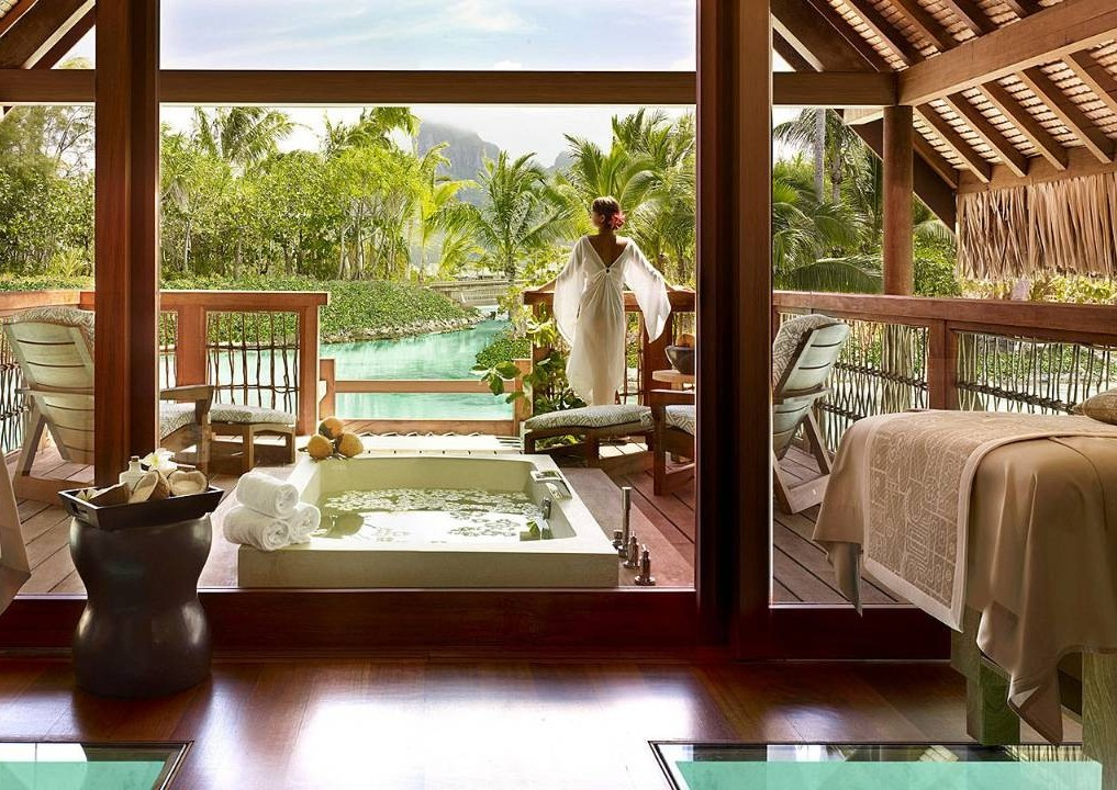 four seasons bora bora spa