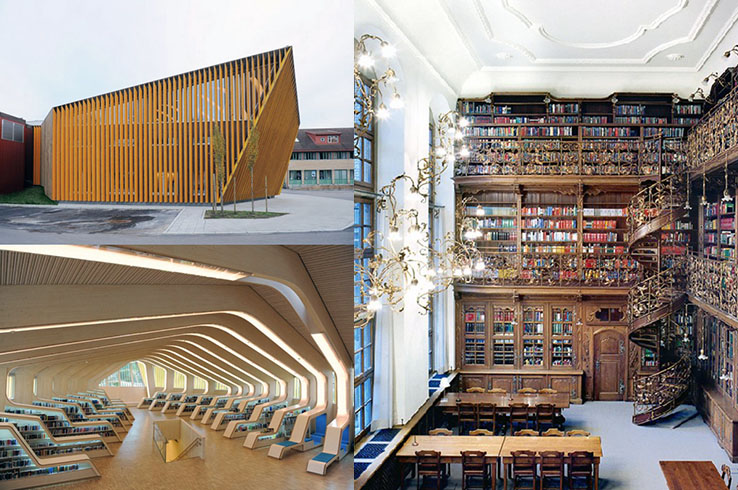 Vennesla Library, Norway;