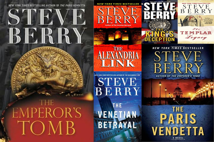 steve berry books