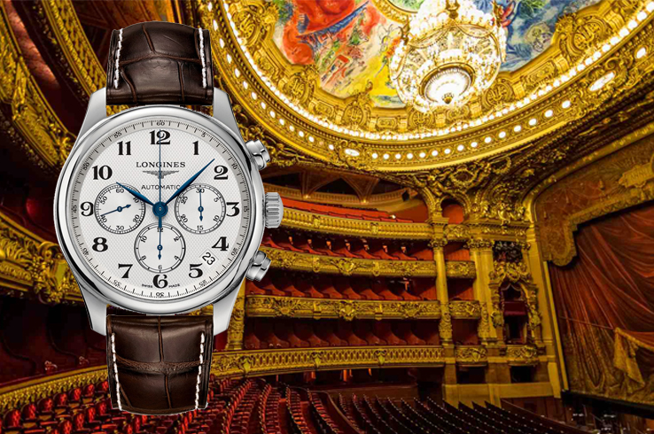 Any watch from Longines matches the cultural heritage of Paris and its environs