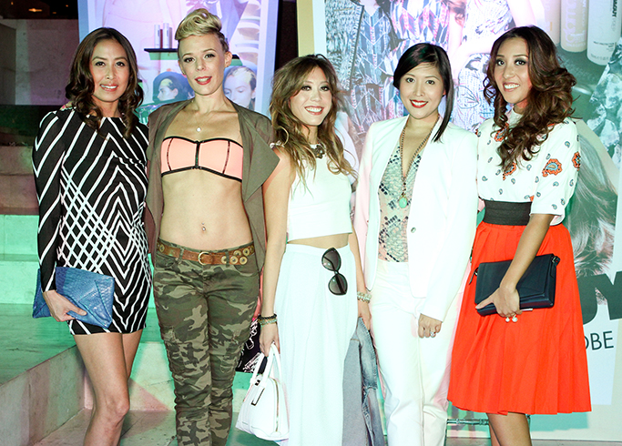 """The Gypsetters with our """"models"""" for Toni & Guy"""