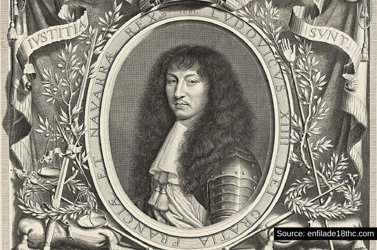 Louis XIV was the longest-reigning King of France, from 1643 to 1715.