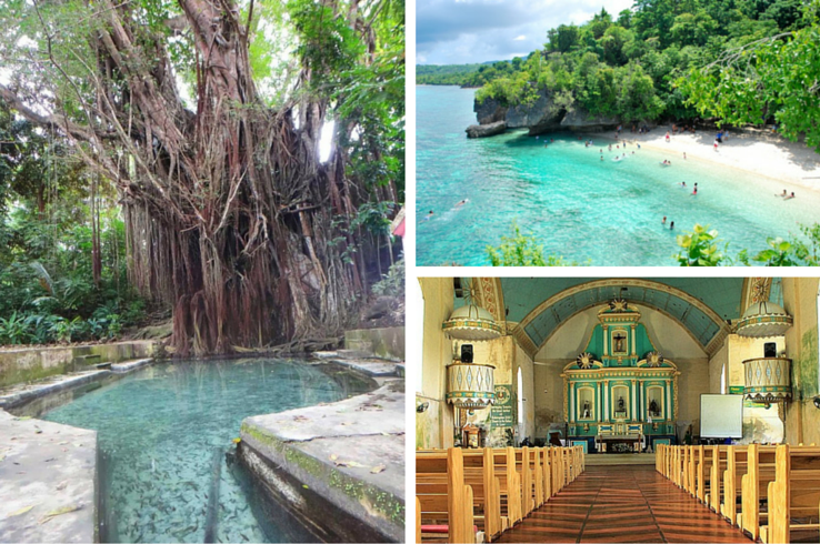 "Siquijor was once called ""Isla del Fuego"" during the Spanish Colonial Period because it gives off an eerie glow--thanks to fireflies floating about the molave trees. (Photo sources: Pinterest)"