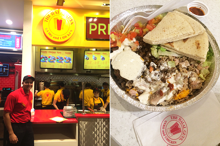Mohammed of The Halal Guys; the works