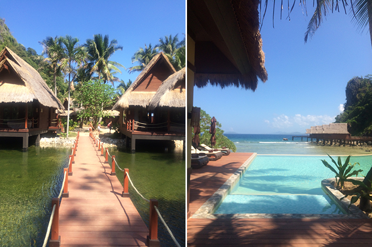 Newly opened Cauayan Resort on an island in Cadlao