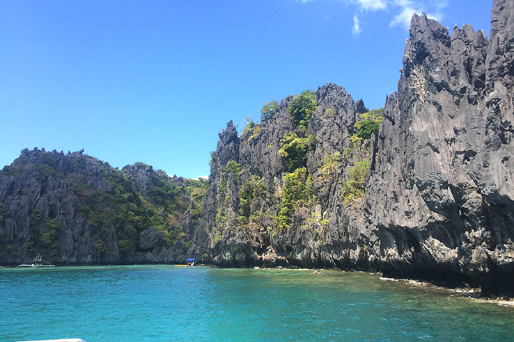 El Nido's incredible limestone cliffs