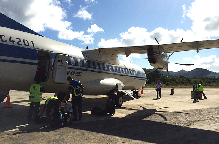 Fly to El Nido via Air Swift. Don't worry, it's safe!