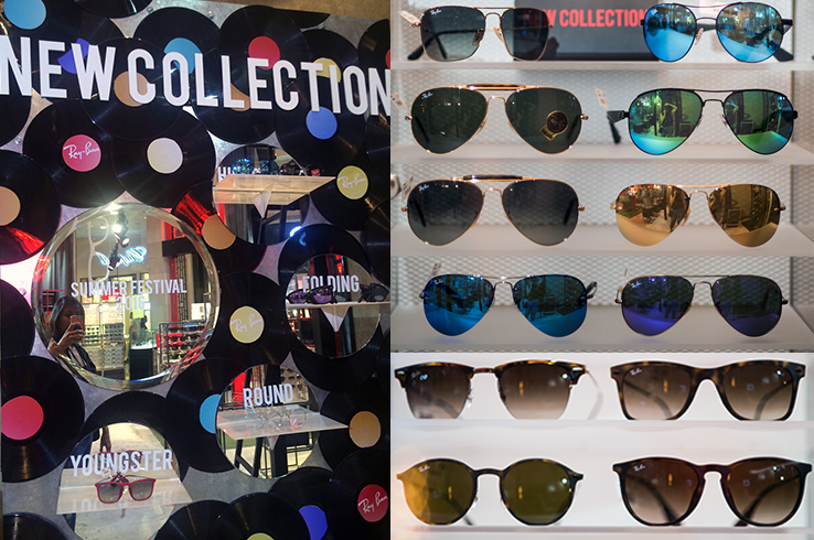 The new Ray-Ban Spring-Summer 2016 collections