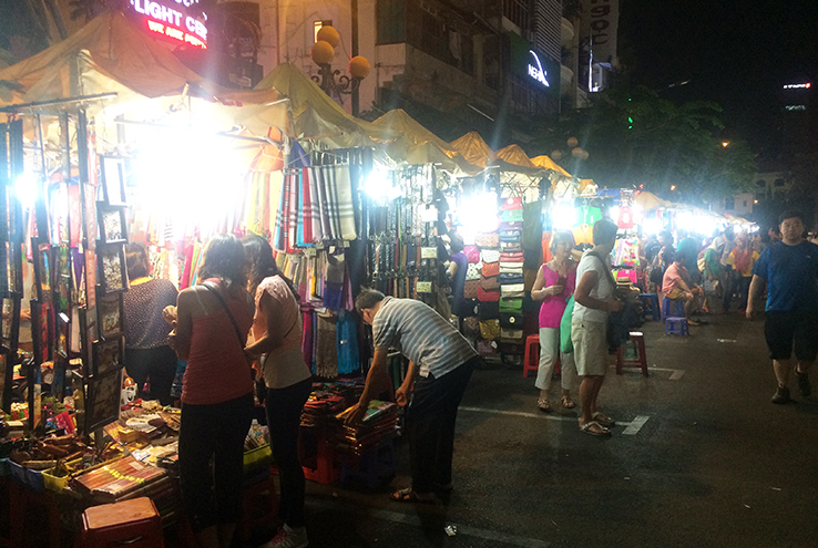 HCMC night market