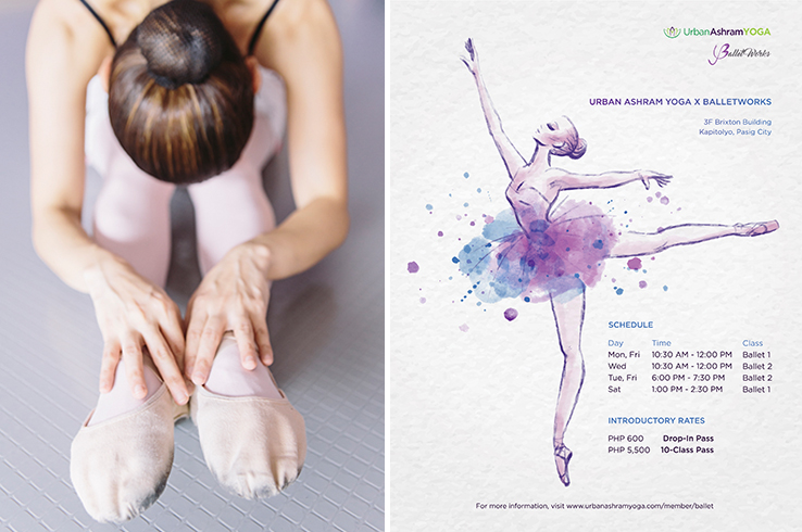 Bring out the ballerina in you at Urban Ashram Manila