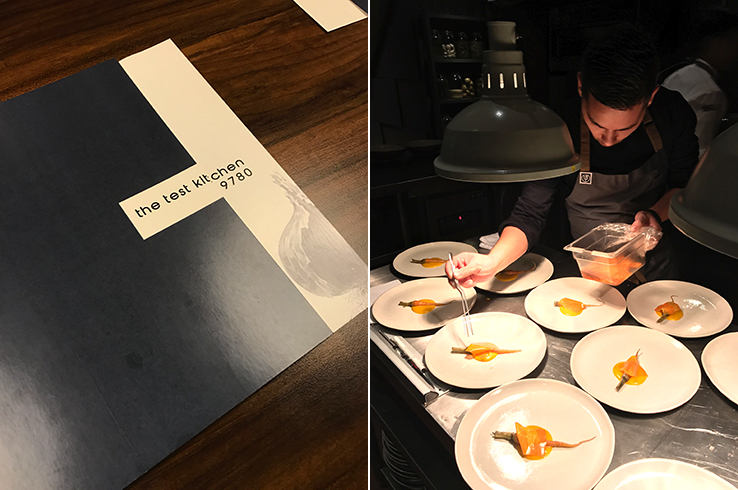 The Test Kitchen's Josh Boutwood doing his thing