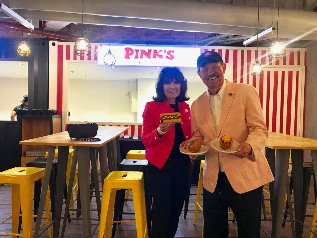 Gloria and Richard Pink of Pink's Hot Dogs