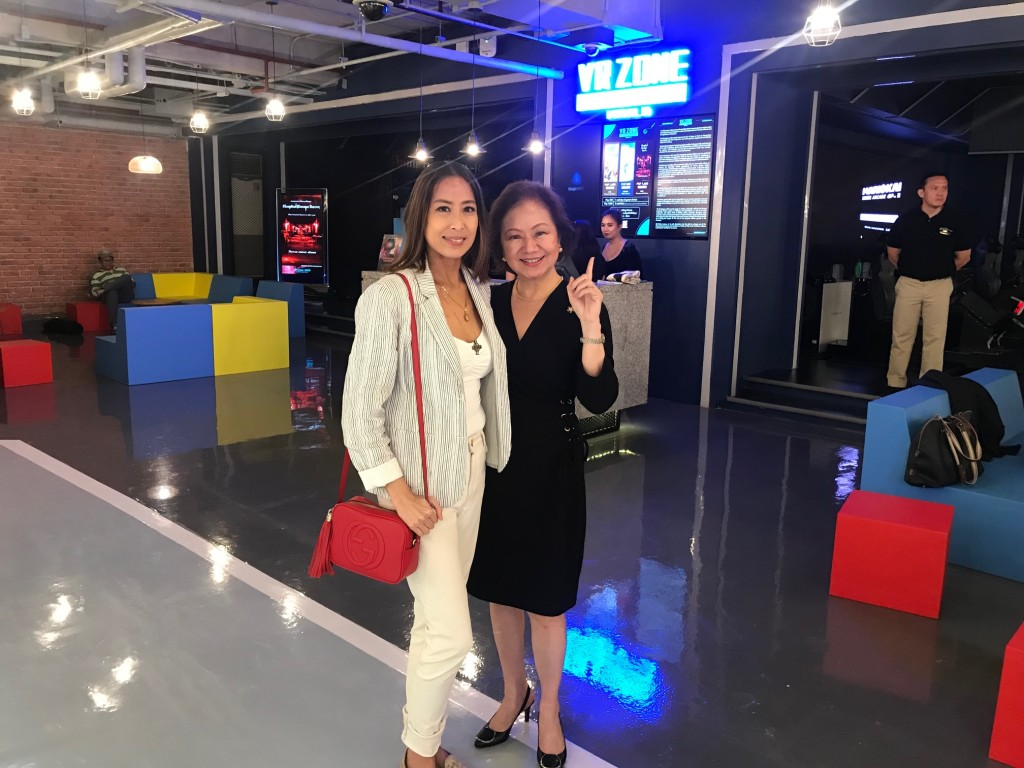 With COD Manila's Charisse Chuidian